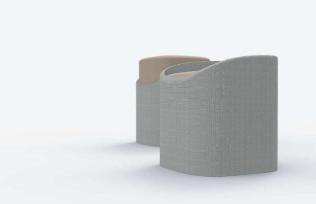 STOOL 4801 ha sido diseñado por Kyu-Hyun Lee y desarrollado por FORESPAN